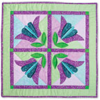 June Tailor - Creativity Center - Project Sheets - Applique Flower Wall Quilt Project