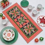 Project Sheet Jolly Star Applique Table Runner