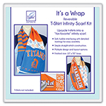 It's a Wrap Reversible T-Shirt Infinity Scarf Kit
