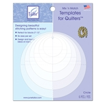 Mix 'n Match Quilting Templates - Circle