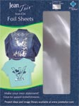 June Tailor Iron-On Foil Embellishment Sheets (2 sheets Silver)