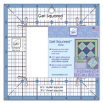 June Tailor Get Squared™ Quilting Ruler - 6-1/2