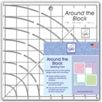 June Tailor Around The Block Quilting Ruler