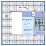 June Tailor Get Squared™ Quilting Ruler - 12-1/2