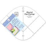June Tailor Fleece with Flair - Round The Corner Ruler