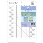 Quarter Cut™ Quilting Ruler