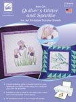 June Tailor Quilter's Glitter and Sparkle Inkjet Printable Transfer Sheets