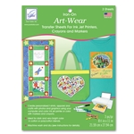 Art-Wear Inkjet Transfer Sheets (3 sheets/pack)