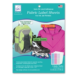 Fabric Label Sheets (3 sheets/pack)
