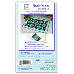 June Tailor Floor Decor, DIY Rug Kit - Lattice Design