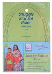 June Tailor Fleece with Flair - Snuggly Blanket Template