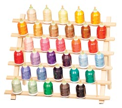 Mid-Size Cone Thread Rack (33 cones with legs)