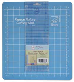 June Tailor Fleece with Flair - Rotary Cutting Mat and Ruler Set