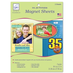 Ink Jet Printable Magnet Sheets